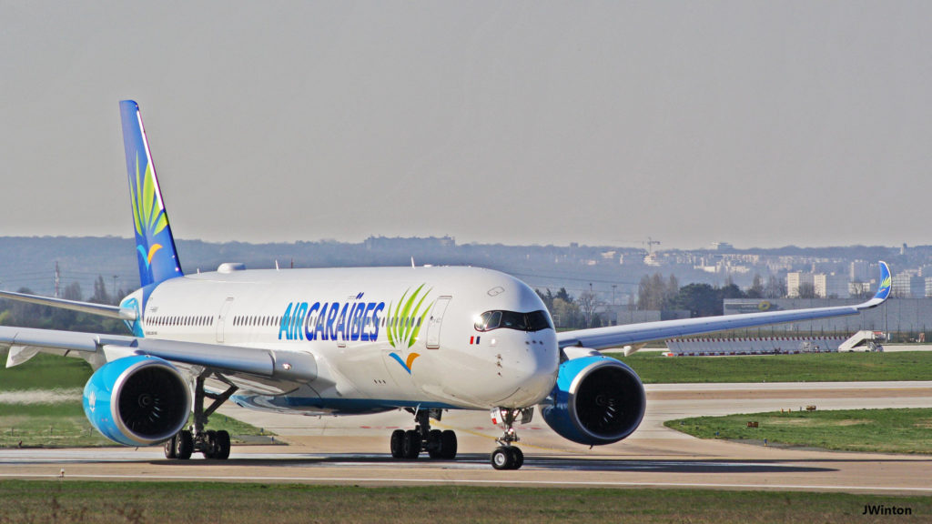 Air Caraibes A350-941 F-HHAV Paris Orly
