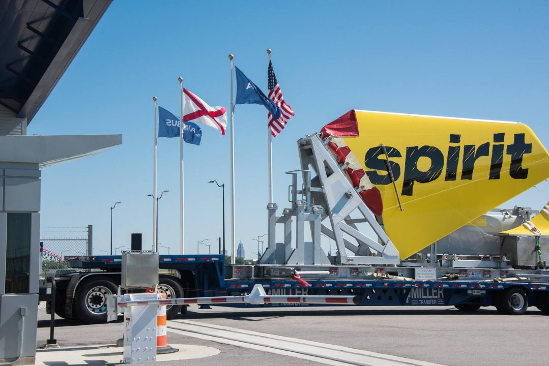 Airbus A320 Spirit Airlines made in USA