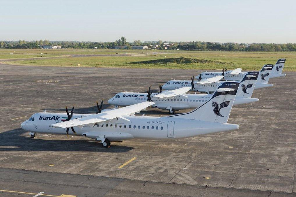 Les quatre ATR72-600 Iran Air