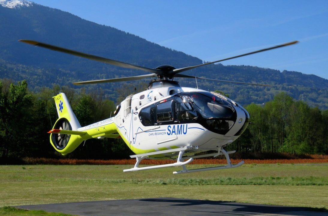 H135 SAMU du groupe SAF Hélicoptères