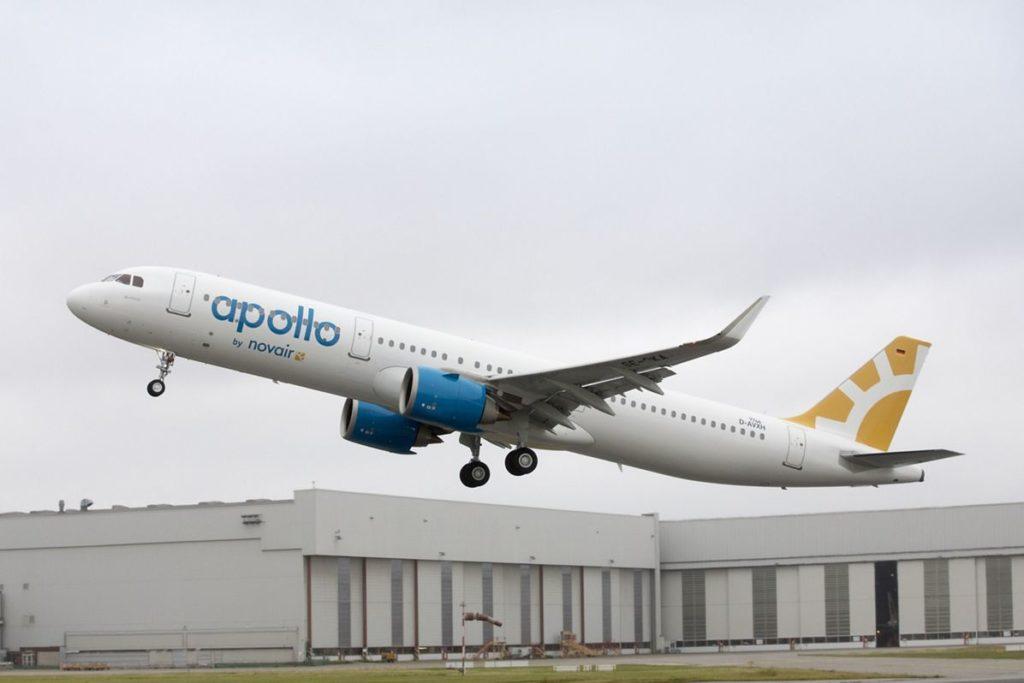 D-AVXH Airbus A321neo Novair