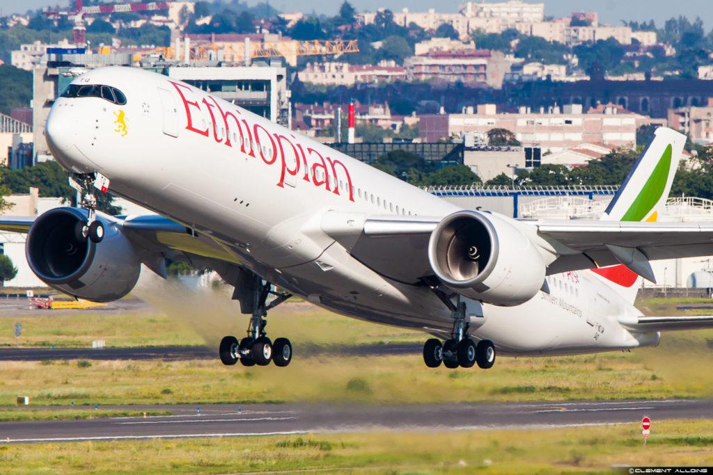 Ethiopian Airlines Airbus A350-941 cn 040 F-WZGM // ET-ATQ