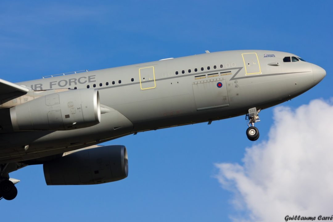 ZZ332 A330 MRTT Royal Air Force