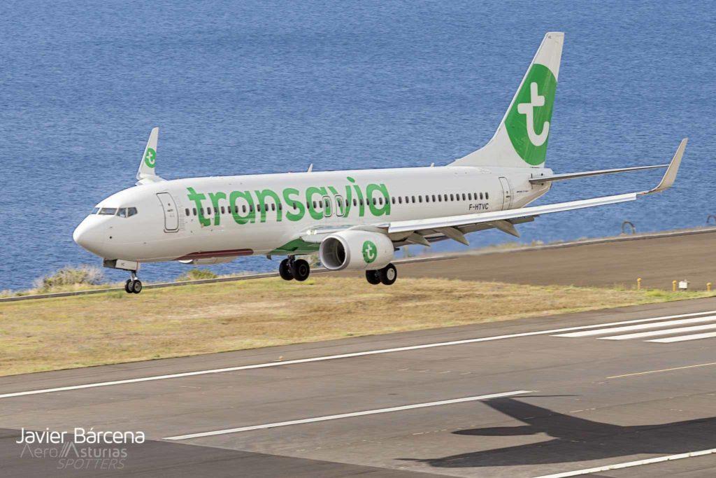 F-HTVC Boeing 737 TRANSAVIA FRANCE