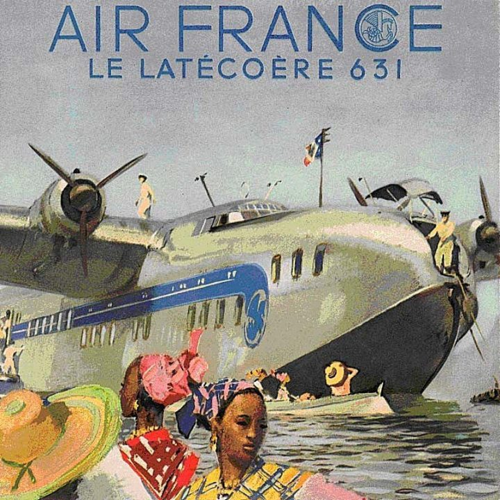 Poster Air France Latécoère Late 631