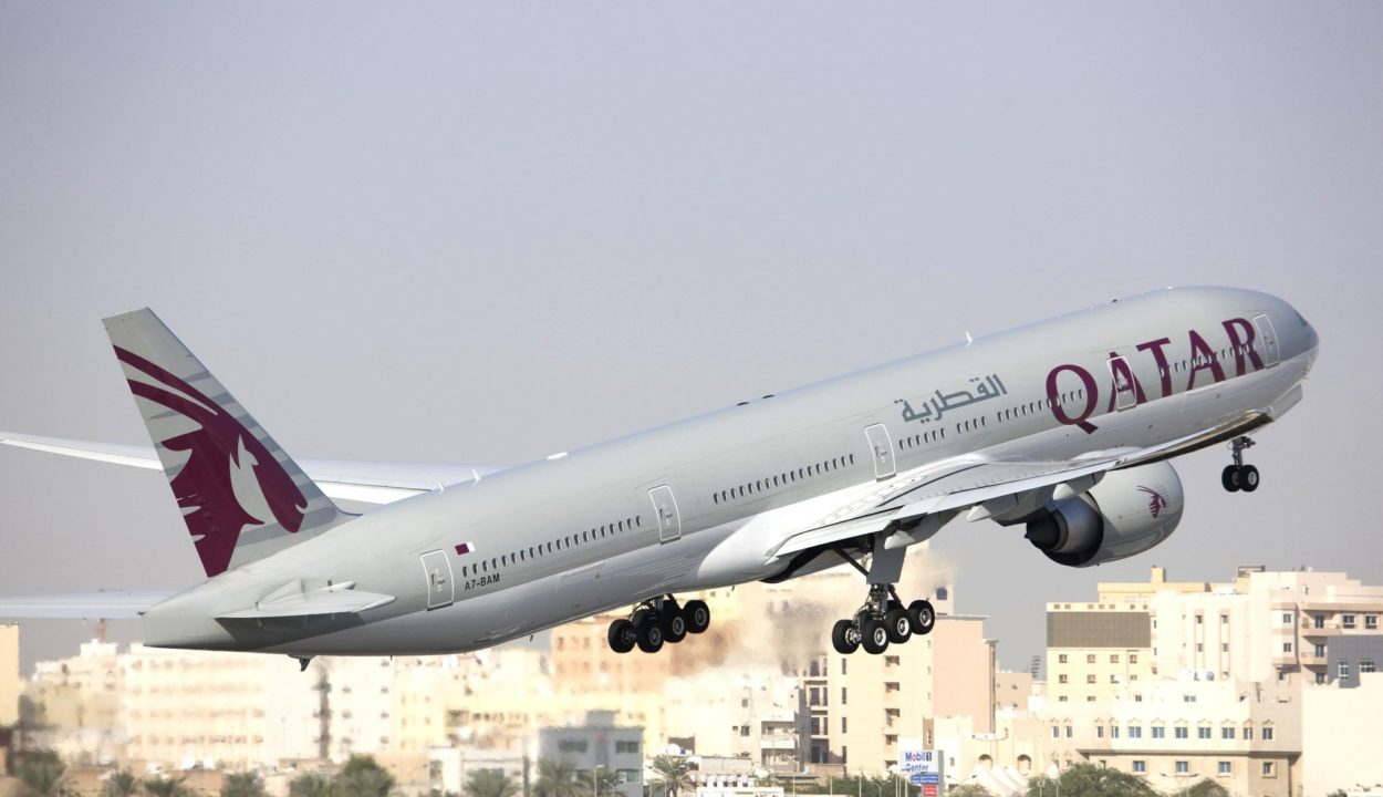 Boeing 777-300ER Qatar Airways
