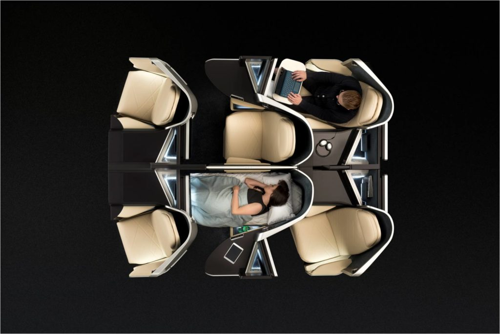 Optima Zodiac Seat pour classe Business