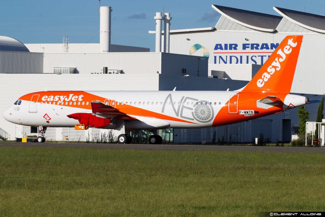 easyJet Airbus A320-251N(WL) cn 7705 F-WWTN // G-UZHB