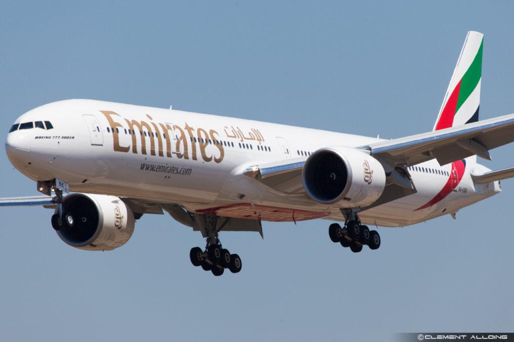 Emirates Boeing 777-31H(ER) cn 38991 A6-ENK