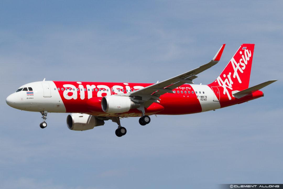 Thai Air Asia Airbus A320-216(WL) cn 6240 F-WWIN // HS-BBO
