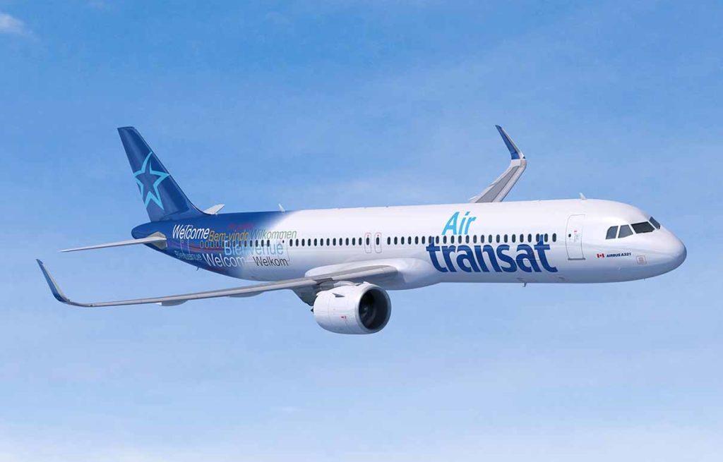 A321LR Air Transat