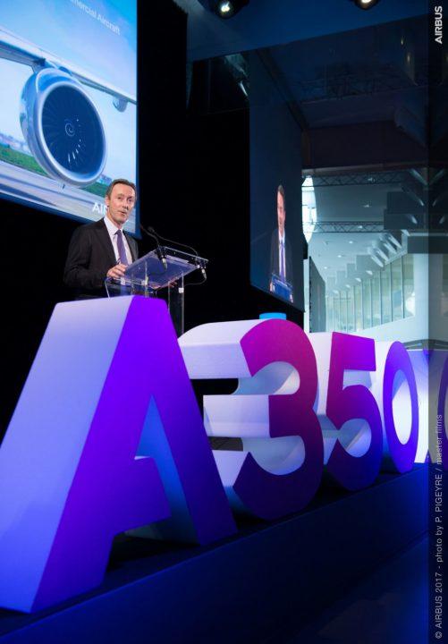Fabrice Brégier, Directeur Général Délégué d'Airbus et Président d'Airbus Commercial Aircraft.