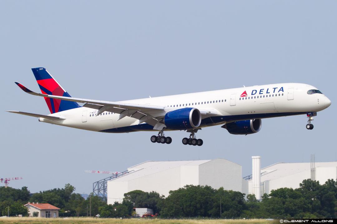 Delta Air Lines Airbus A350-941 cn 115 F-WZGP // N501DN