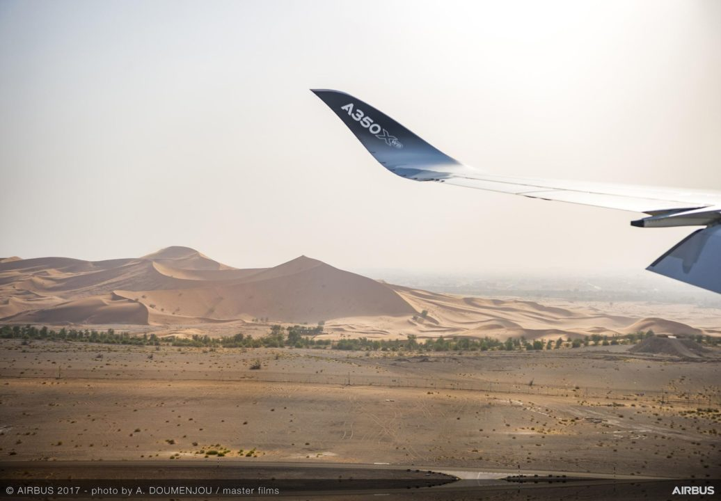 Airbus A350 MSN065 test fortes chaleurs