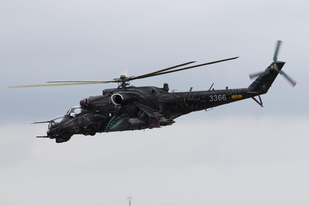 Mi-24 tchéque - NATO 2017