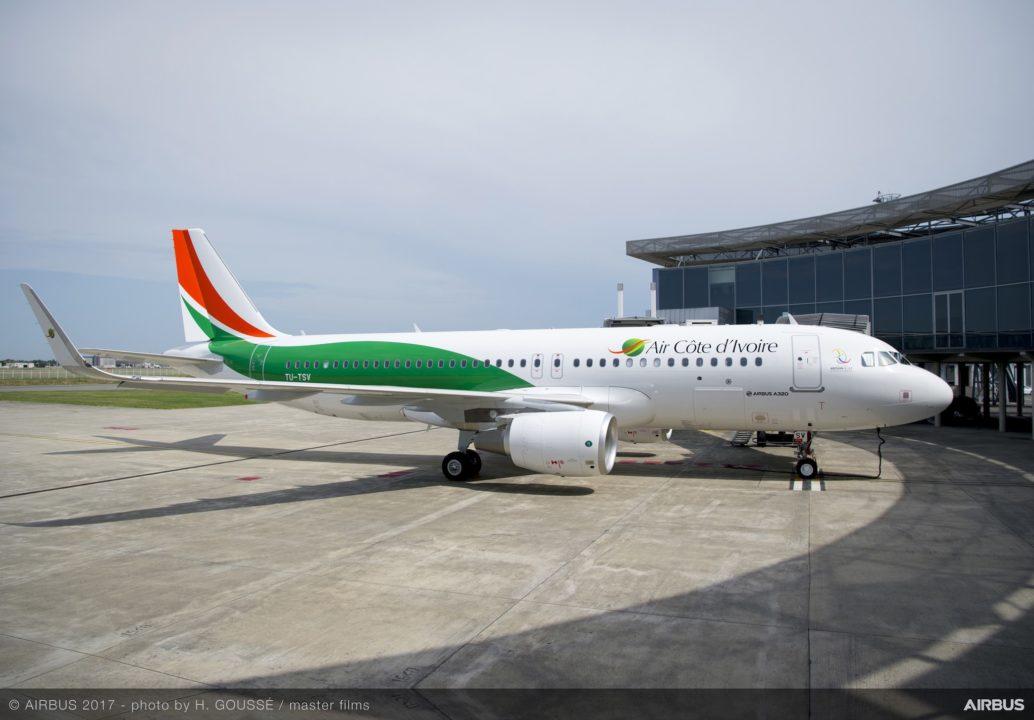 TU-TSV - A320 Air Côte d'Ivoire
