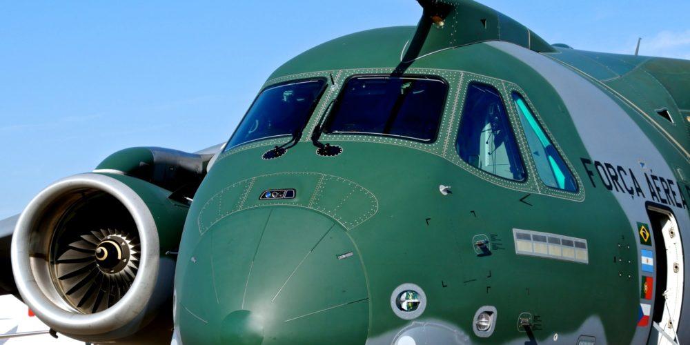 Embraer KC-390 au Bourget 2017