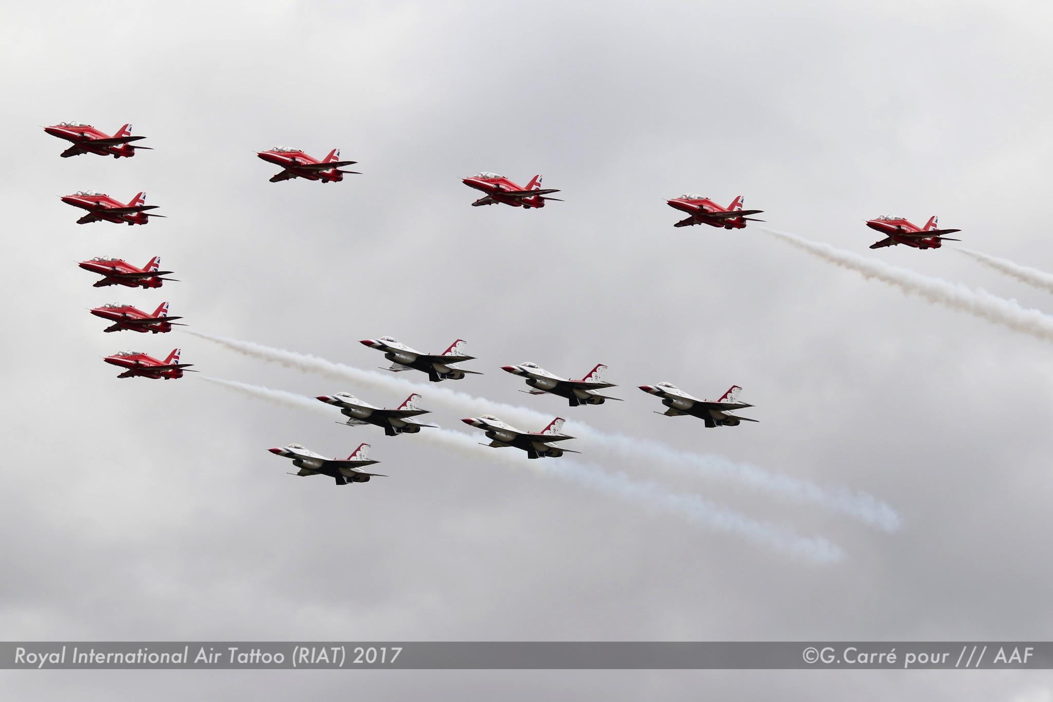 Red Arrows + Thunderbirds