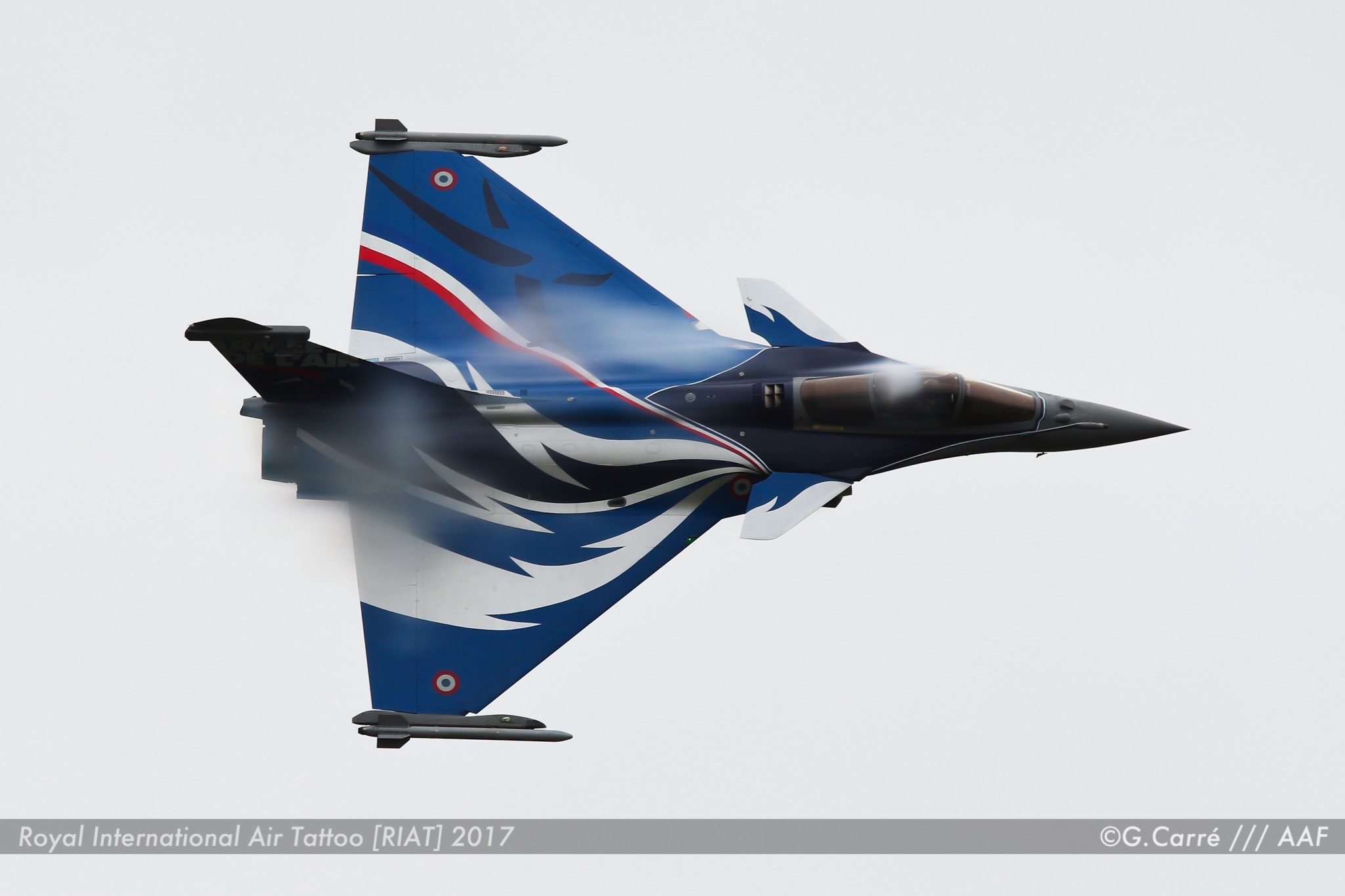Rafale Solo Display - Armée de l'Air Française