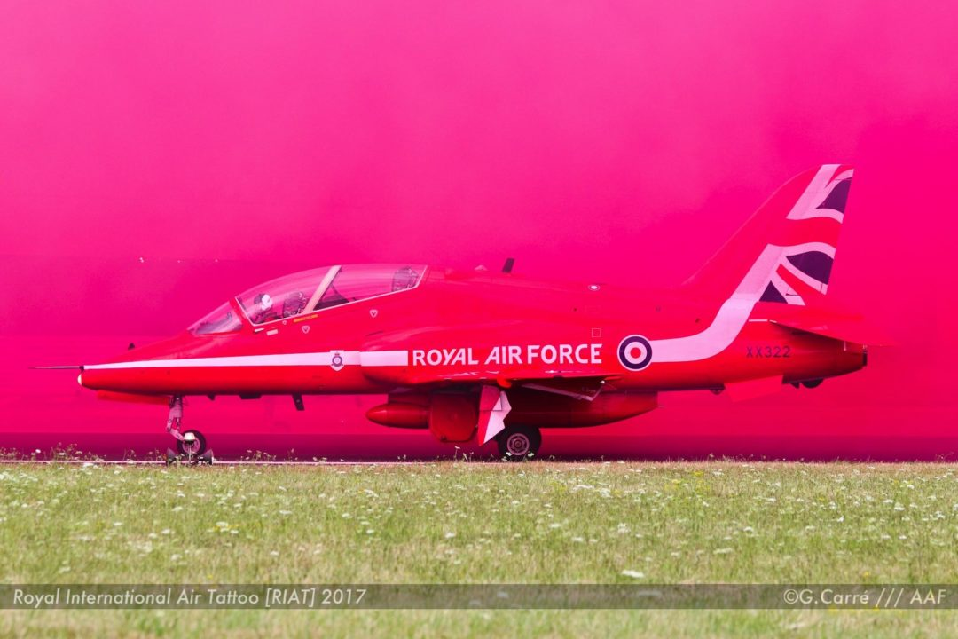 Hawk - Red Arrows - RAF