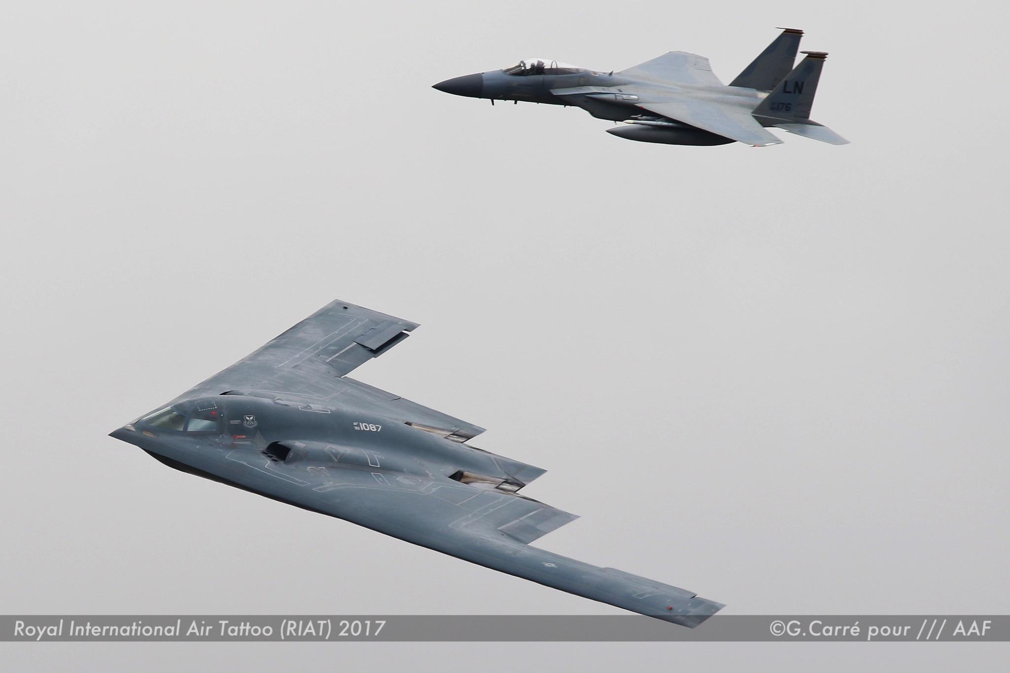 B2 + F-15