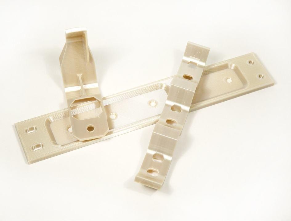 ferrures en polymère A350 imprimée en 3D