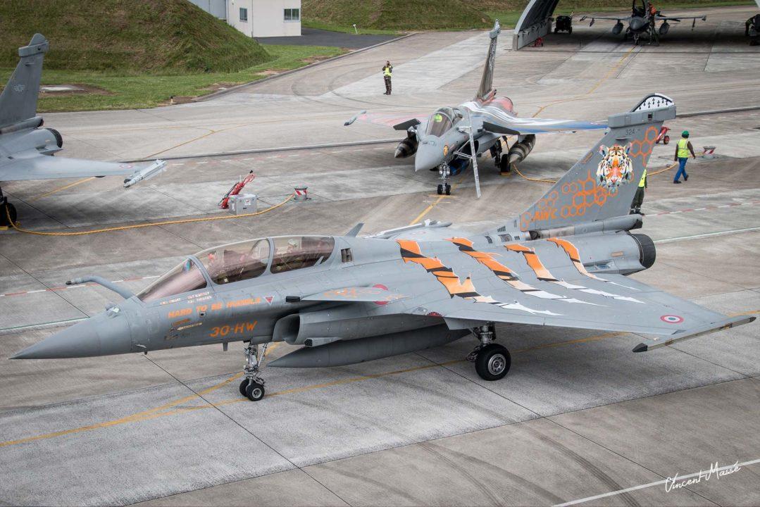 Rafale B de l'armée de l'air française - NATO 2017