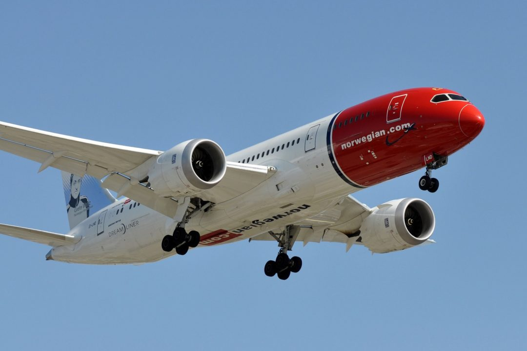 B787 Norwegian
