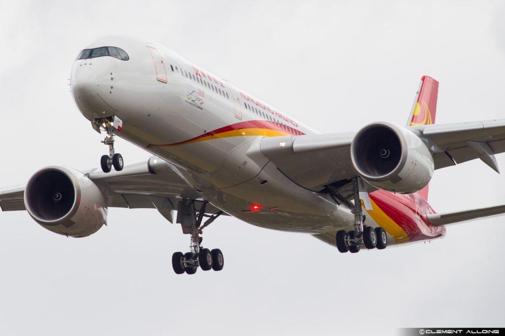 Hong Kong Airlines Airbus A350-941 cn 124 F-WZGE // B-LGA