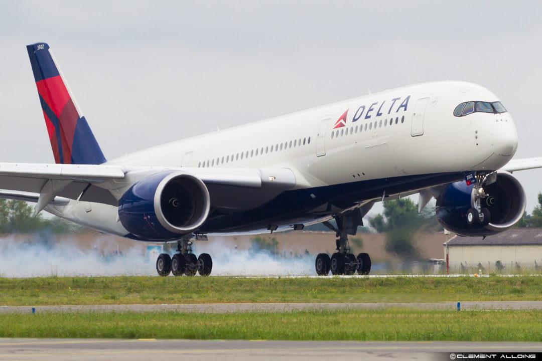 Delta Air Lines Airbus A350-941 cn 135 F-WZNC // N502DN