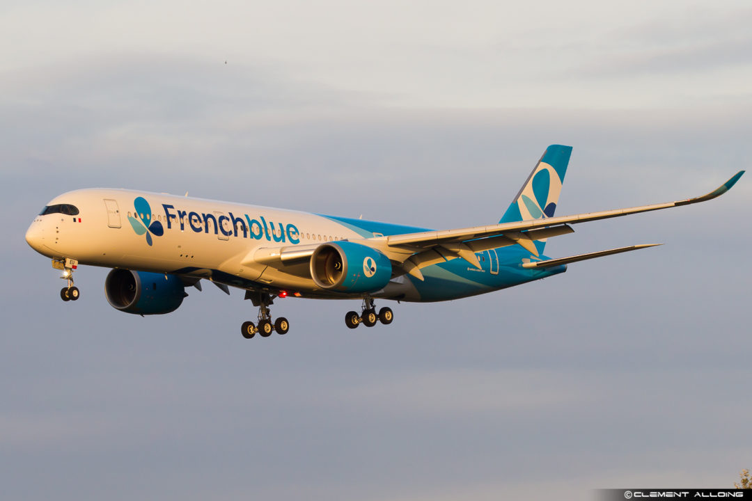 A350-900 Fench blue F-HREU