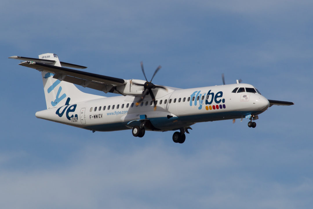 F-WWEV // OH-ATP Flybe Nordic ATR 72-212A - cn 1050