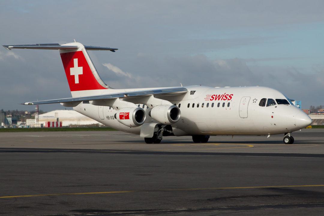 BAE Systems Avro 146-RJ100
