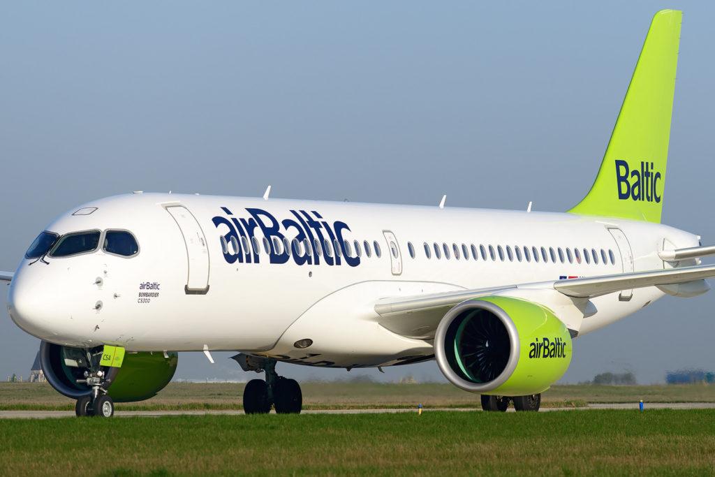 AirBaltic Bombardier CS300 [YL-CSA]