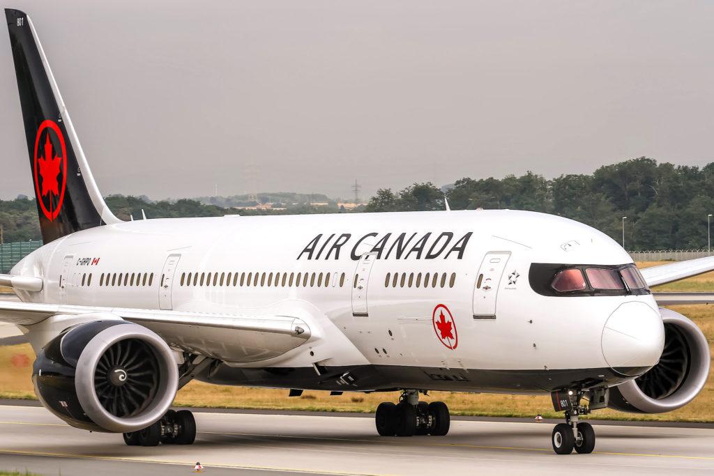 C-GHPQ Air Canada Boeing 787-8 Dreamliner