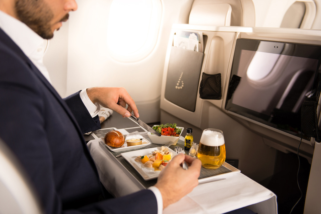 Classe Affaires Brussels Airlines