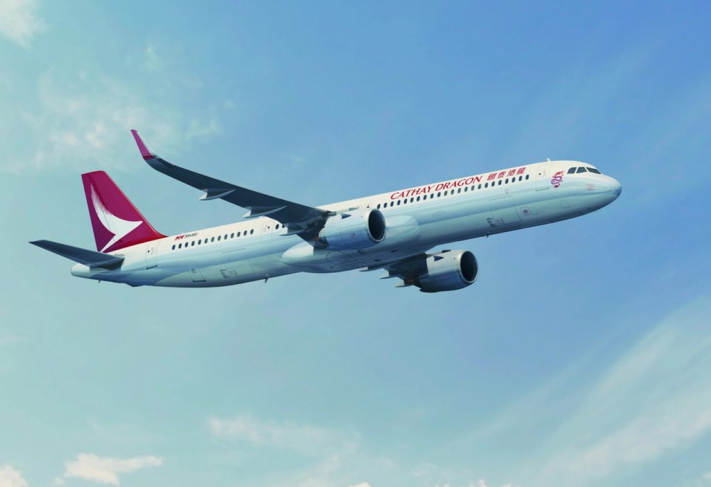 Airbus Cathay Dragon A321neo
