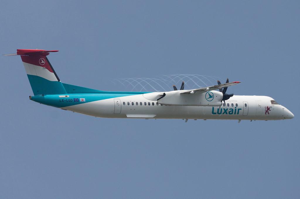 Luxair De Havilland Canada DHC-8-402Q Dash 8