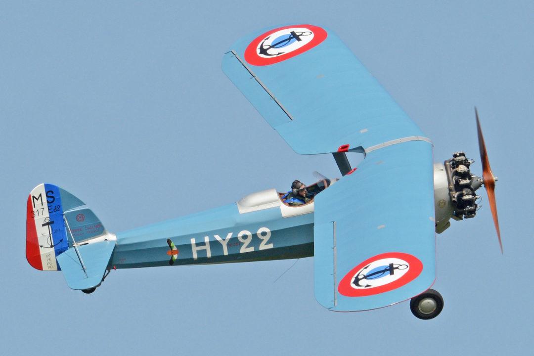 Morane-Saulnier MS.317 '351 / HY-22' (G-MOSA)
