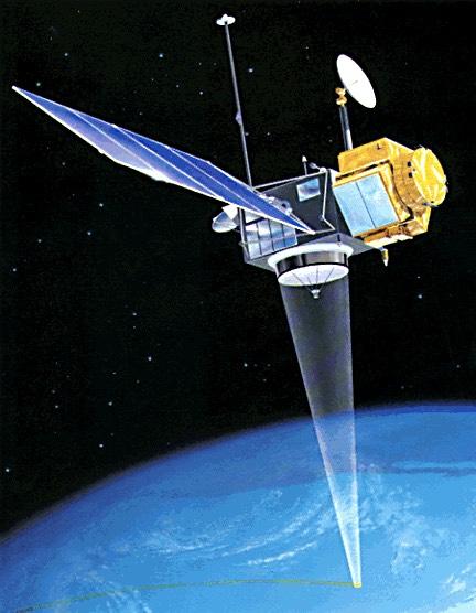 Satellite d'observation des océans TOPEX/Poseidon