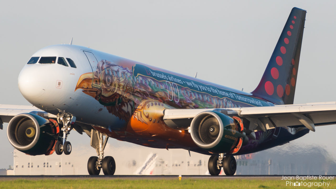 "Airbus A320-214 Brussels Airlines ""Tomorrowland Livery"" OO-SNF"