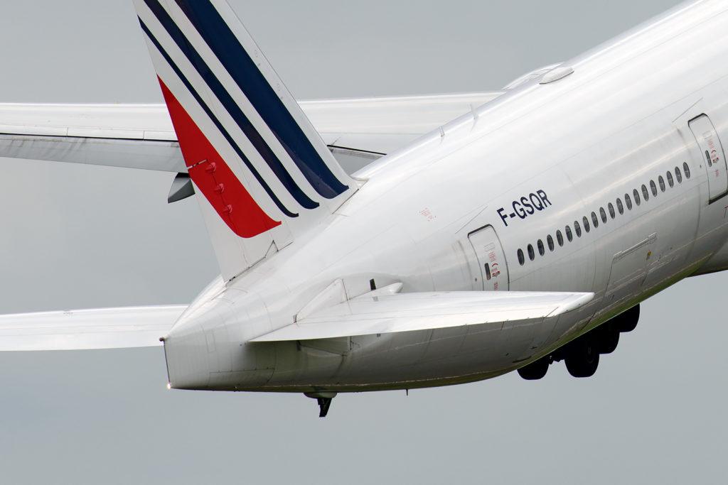 APU 777 Air France