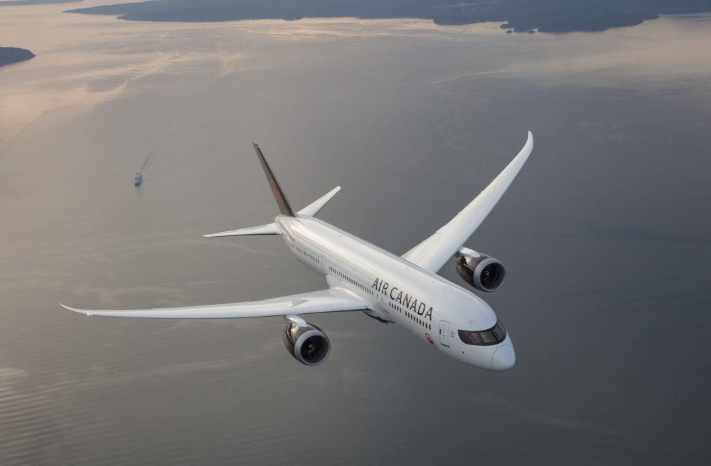 Boeing B787-9 avec la nouvelle livrée