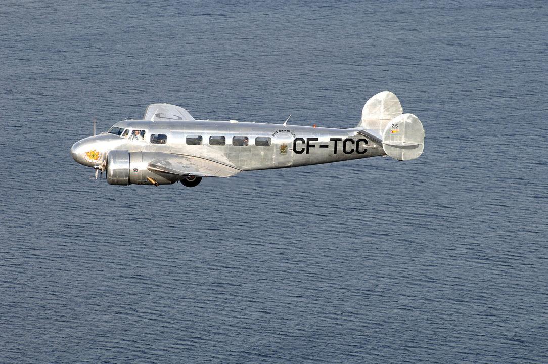 10A de Lockheed (CF-TCC)