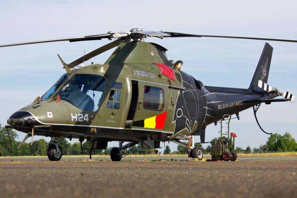 Hélicoptère A109 Belgian Air Force