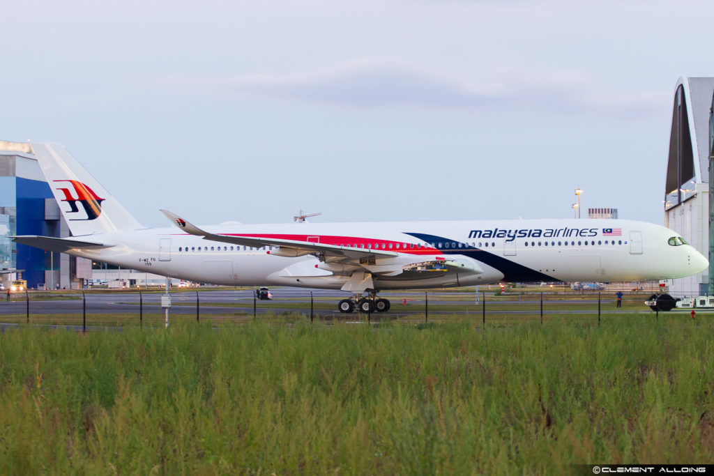Malaysia Airlines 350-941 cn 159 F-WZFG // 9M-MAB