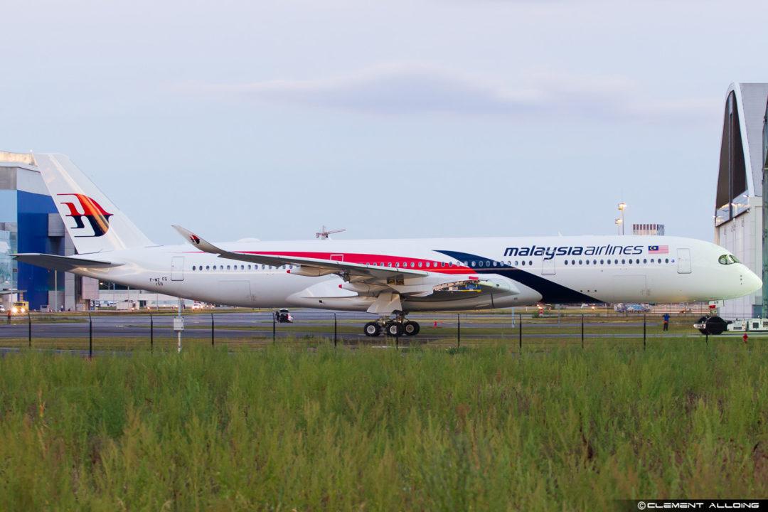 Malaysia Airlines 350-941 cn 159 F-WZFG // 9M-MAB