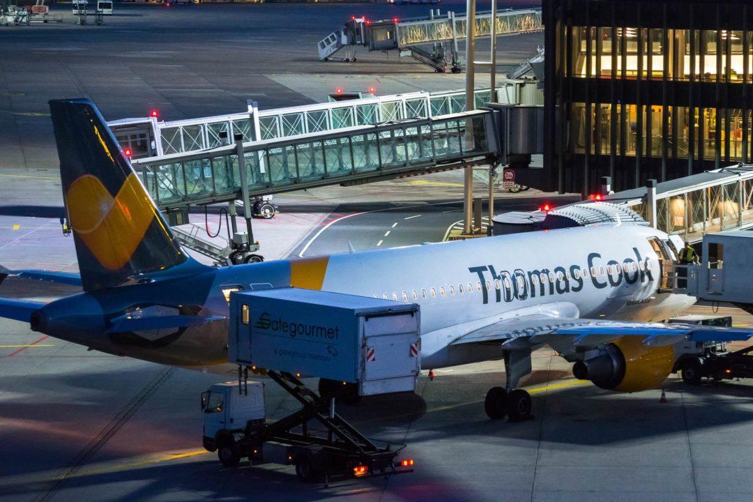 Airbus A320 Thomas Cook Belgium