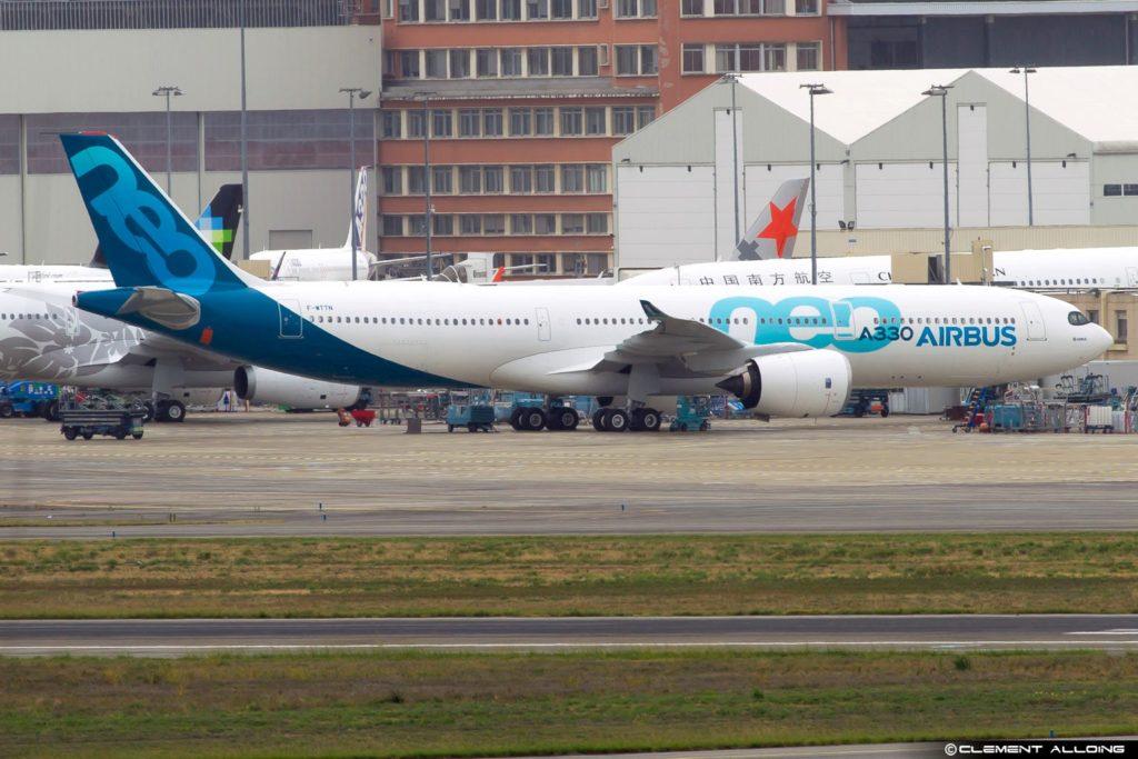 A330neo sur le tarmac de Toulouse-Blagnac
