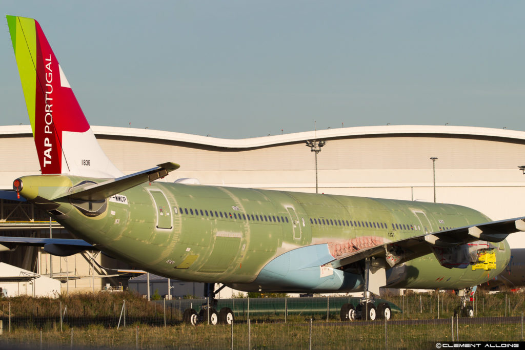 TAP Portugal Airbus A330-941neo cn 1836 c'est 1836 F-WWCP // CS-TUB